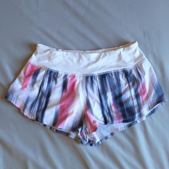 Lululemon running shorts, size 4